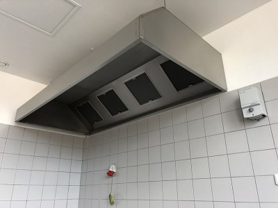 Gastro digestoř nástěnná box <br> šířka 2500mm