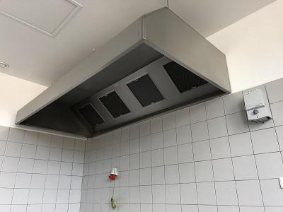 Gastro digestoř nástěnná box <br> šířka 4000mm