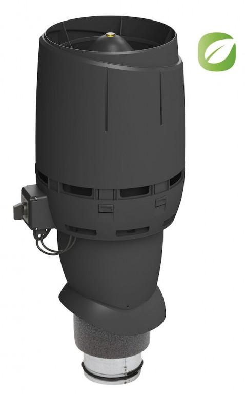 Vilpe ECO160P/Ø160/500 FLOW, černá RAL 9005