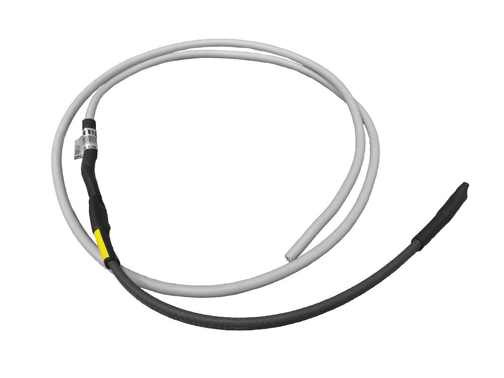 Topný kabel 230V / 14W Ø110, černá RAL 9005
