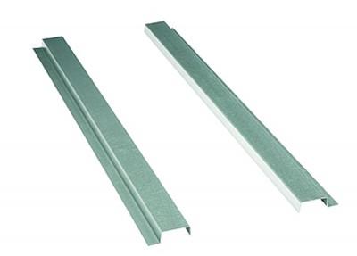 Fixační lišty pro plechovou střechu