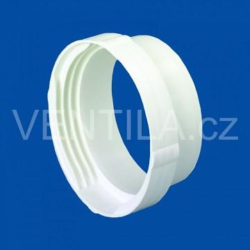 Kruhová plastová spojka potrubí a hadice VP 125 KSPH
