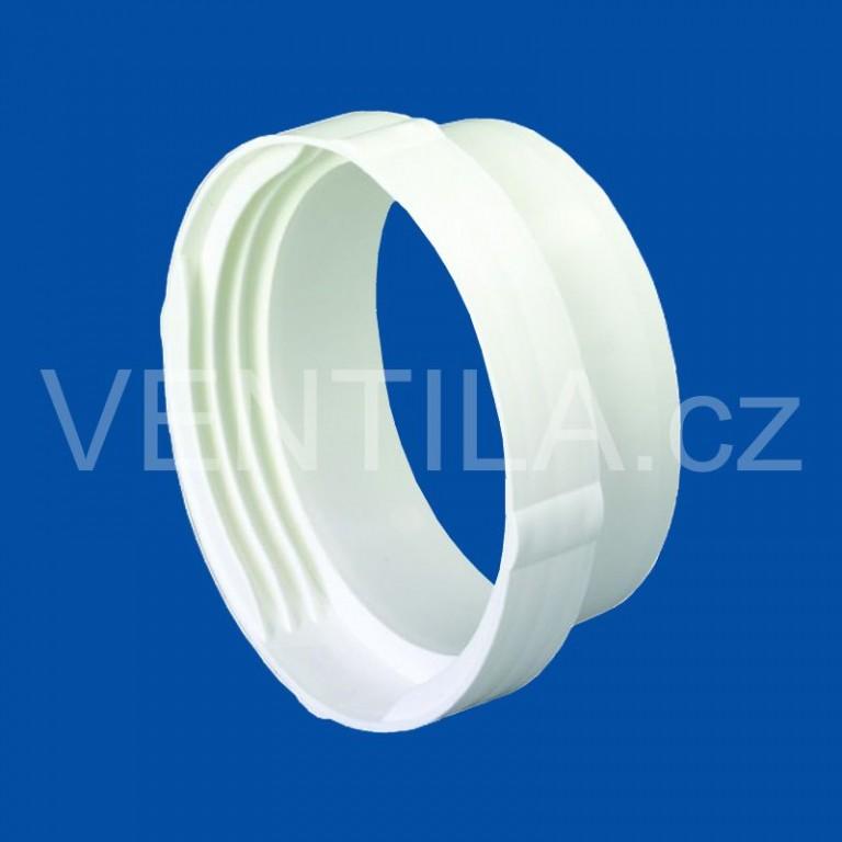 Kruhová plastová spojka potrubí a hadice VP 100 KSPH