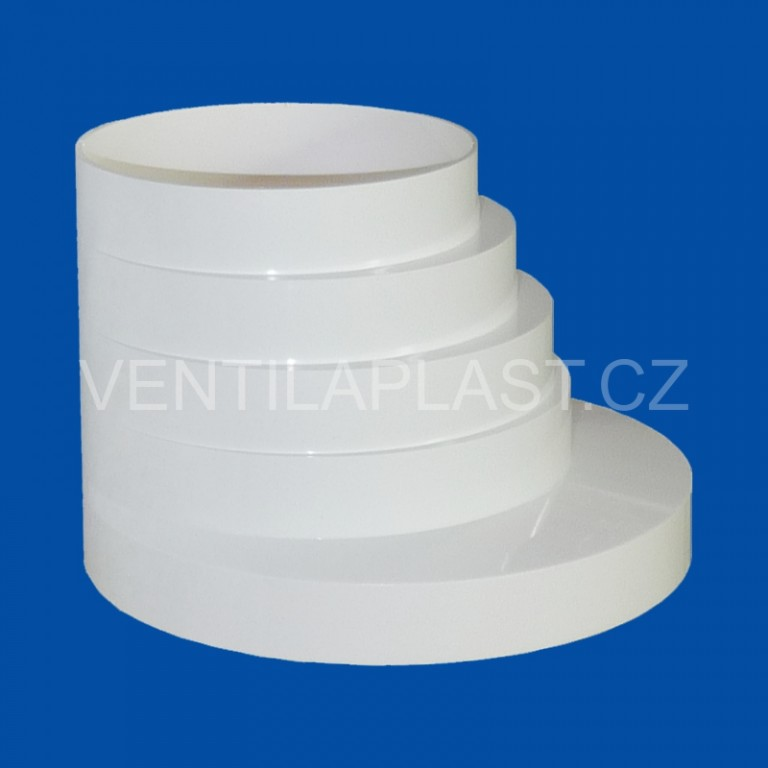 Kruhový plastový přechod vyosený VP 80/100/120/125/150/160 KPV