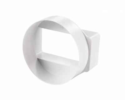 Plastový přechod přímý, osový VP 55X110/100 PRO
