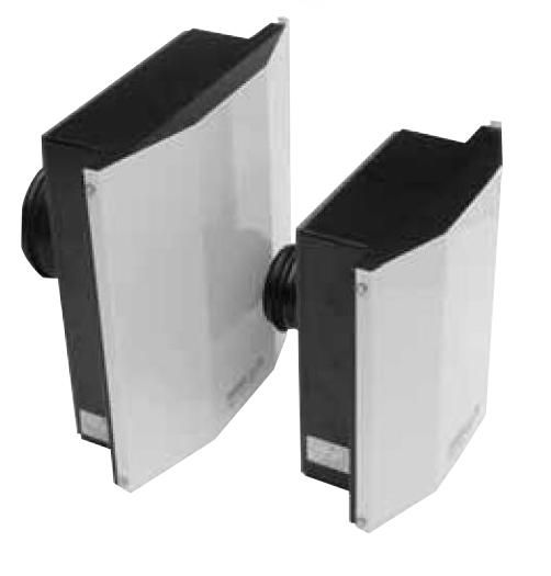 Venkovní odsávací ventilátor S&P SWF-100 X