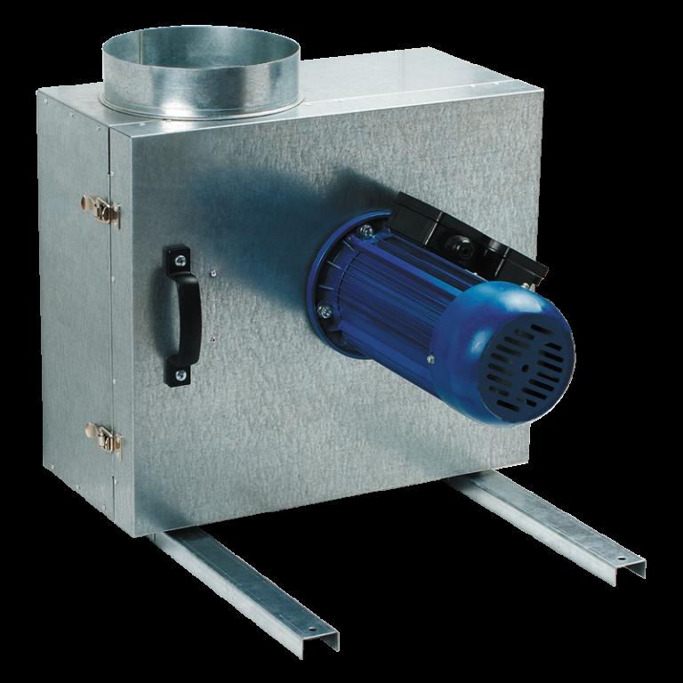Odhlučněný kuchyňský ventilátor Vents KSK 160 4E