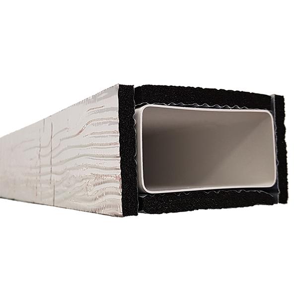 Izolace pro hranaté potrubí IZO 60x204/1000 HP