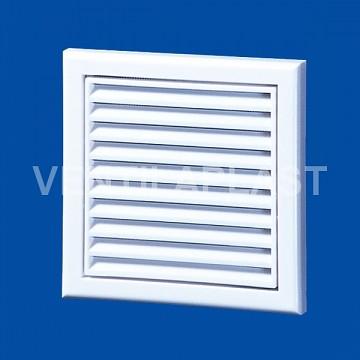 Plastová větrací mřížka VP MV 100 s (se síťkou)